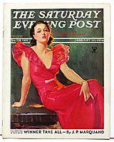 Original 1930s Saturday Evening Post Magazines For Sale