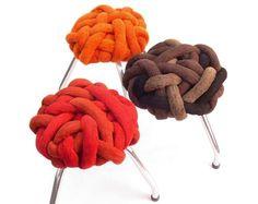 'Medusa' stools by Lattoog, Brazil