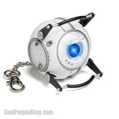 Portal Wheatley LED Flashlight Keychain by Think Geek Portal 2 Wheatley, Geek Toys, Tk Maxx, Led Flashlight, T Rex, Geek Stuff, Cool Stuff, Interesting Stuff, Ebay