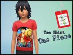 Tee shirt One Piece - Luna Sims