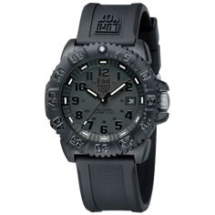 Luminox Evo Navy Seal Blackout 3051BO  A great Swiss made watch which utilizes gas light technology to illuminate in any darkness.  It is a very cool watch to see in person.  This watch is very durable and owned by most of our staff here at GIS.  THE luminox 3051 BO is definitely a GIS