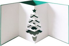 Silhouette Online Store - View Design #33276: pop out tree card