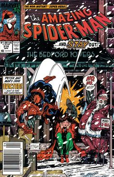 Cover for The Amazing Spider-Man (Marvel, 1963 series) #314 [Direct Edition]