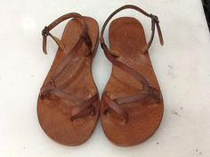 BIANNA:Classic Comfortable Handmade leather sandals custom size available by BODRUMSANDALS on Etsy