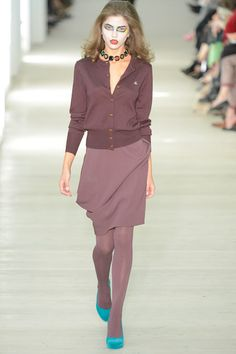 @VivienneWestwoodRedLabel women's fall 2013 RTW London