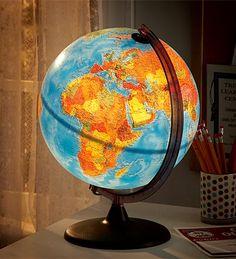 Laser peg light set & globe giveaway from HearthSong! SimpleHomeschool.net