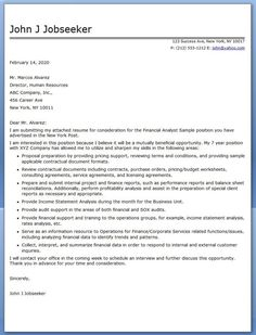 accounting analyst cover letter monte amp finance samples resume genius