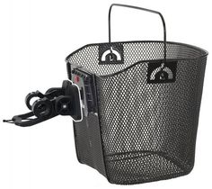 Cycle Force Group Cruiser Bike best deal M-Wave Wire Bicycle Basket With Clip-on Bracket