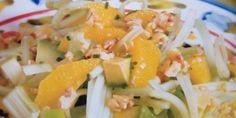 Ensalada de Apios y Paltas, una entrada fresca y deliciosa, muy rápida y fácil de preparar , Estos son los Ingredientes y el Modo de preparación paso a paso de esta rica ensalada.
