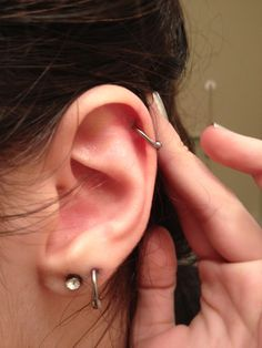 cartilage piercing | Tumblr