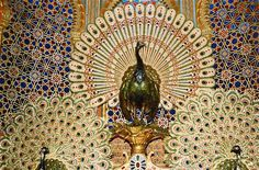 Fragment of Peacock Throne Phobs,heh.: Photo