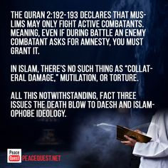 Three facts to unravel the myth that Islam promotes violence? Political Environment, School Stress, The Proclamation, United Way, Islamic Teachings, Islamic Messages, Heart And Mind, In High School