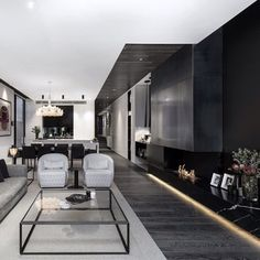 Black and white... by Architecton. #homedesign #lifestyle #style #designporn #interiors #decorating #interiordesign #interiordecor #architecture