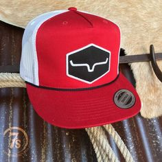 a5121ba2780 Kimes Retro Trucker Cap - Kimes Ranch cap.Red