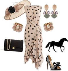 Kentucky Derby party outfit I wish Kentucky Derby Outfit, Derby Attire, Kentucky Derby Fashion, Derby Outfits, Chapeaux Pour Kentucky Derby, Derby Day, Knot Dress, Mode Style, At Least
