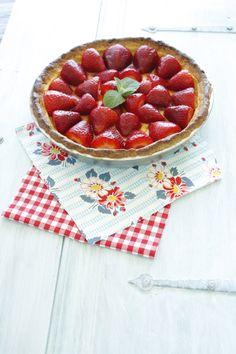 Strawberry Lemon Mascarpone Pie — Pedantic Foodie