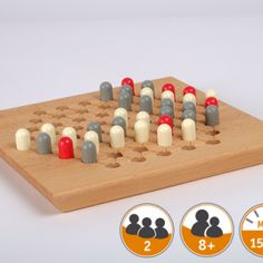 Shop - Anything-from-Germany.com Wooden Plugs, Minute Game, Board Games, Germany, How To Make, Handmade, Towers, Number, Group