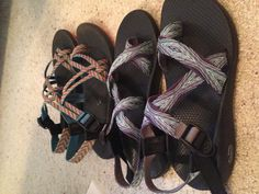 Chacos!  I have the pair in the front.  I love them!