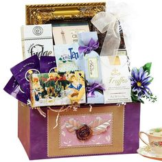 Art of Appreciation Gift Baskets  Because You're Special Gift Box - http://www.yourgourmetgifts.com/art-of-appreciation-gift-baskets-because-youre-special-gift-box/