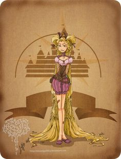 Who doesn't love a Steam Punk Princess?