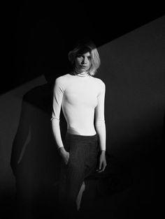 Aline Weber by Annemarieke van Drimmelen for Rika Magazine Fall-Winter 2013-2014 Brooklyn Babe