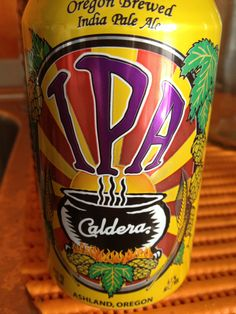 Caldera IPA  Brewed by Caldera Brewing Company Style: India Pale Ale (IPA) Ashland, Oregon USA