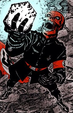 Awesome Red Skull by John Byrne