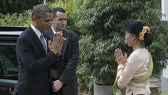El presidente de EE.UU, Barack Obama, realiza histórica visita a Birmania y marca un nuevo capítulo en las relaciones entre los dos países:
