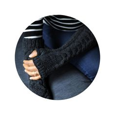 Looking for your next project? You're going to love Au Clair Fingerless Gloves by designer ZuriS.