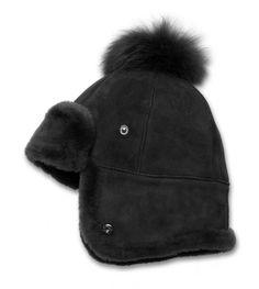 Sheepskin Pom Hat - Sheepskin Pom Hat