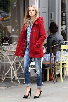 Hazte con tu abrigo rojo - Abrigo Rojo
