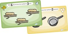 Here are some PlayDoh mats for practicing division concepts.