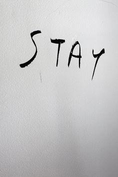 Where you go, I'll go...where you stay, I'll stay...