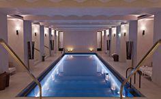 Cafe Royal London - Pool linear light around the pool's bottom