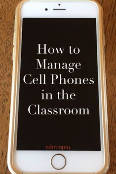 Cell phones aren't going anywhere, so how do you manage their use in the classroom? Blogger Ben Johnson offers some advice. BONUS: The comments are full of teacher-tested tips & tricks.