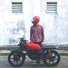 motomood: Yamaha RXS115 cafe racer | NR  motomood:  Yamaha RXS115 cafe racer | NR