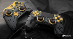 SCUF Infinity Gotham Series controllers, for Xbox One and PlayStation. Custom, Handcrafted Controllers that Increase Hand Use and Improve Gameplay.