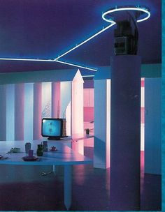 American Apparel - neondreams83:   Neonwave: Future Design