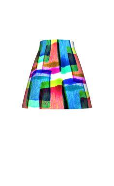 Layered block pattern skirt - Sarah Bagshaw
