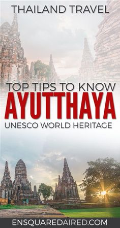 12 Top Tips & Things You Need To Know Before You Visit Ayutthaya Thailand| Asia travel, thailand honeymoon top 10 itinerary, culture travel, southeast asia travel, thailand food photography, Ayutthaya things to do in, Ayutthaya thailand, Ayutthaya itinerary, asia travel destinations, asia travel beautiful places, asia travel southeast, Ayutthaya, bangkok, train travel, Ayutthaya temples, Ayutthaya travel, thailand temples ayutthaya temples #enSquaredAired