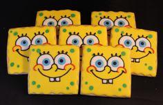 Spongebob sugar cookies jsweetstreats.vpweb.com or FB- Jsweets Treats