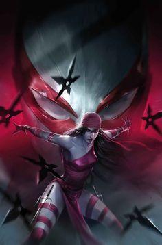 Spider-man 2099 #17 cover by Francesco Mattina