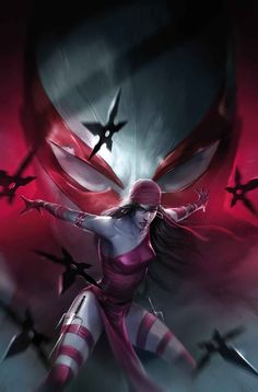Spider-man 2099 #17 cover by Francesco Mattina