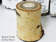 diy birch candle holder by Kim Hamilton55