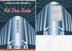Art Deco Posters | ... Creative and Challenging Vector Poster Design Tutorials | Vectortuts+
