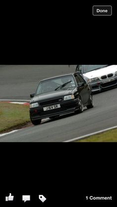 Before Vw My Fully caged out 2ltr 16v Nova Track weapon  So Fast !!
