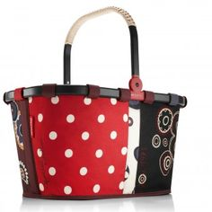 #reisenthel #carrybag #women #shopper anniversary dots - Carrybag will not only let you shop in style at the market, it will also look the part in any shopping centre.