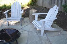 DIY flagstone patio - doing it!