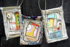 fabric pendants - Google Search