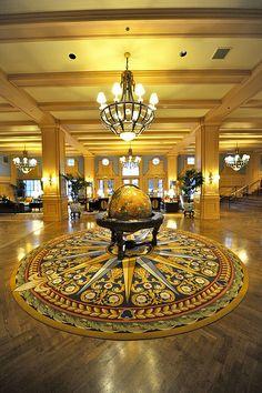 WDW Disney's Yacht Club Resort Lobby
